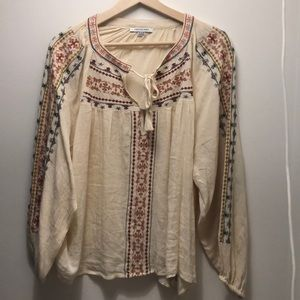 Peasant blouse from American Eagle